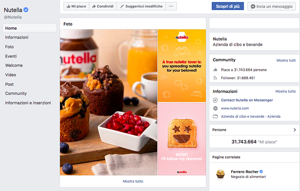 FB NUtella